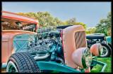 Pink and Aqua 1932 Ford