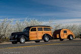 1940 Ford and Teardrop camper