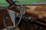 51 Ford - rusted dashboard