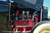 Red Flathead in a Deuce Coupe