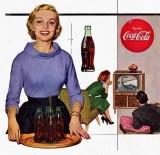 cola and dinosaur TV