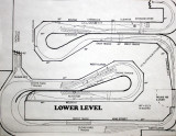 Lower level Track plan