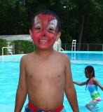 Well Spiderman aint Waterproof!