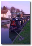Tring, UK : Twilight on the Grand Union Canal