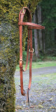 Headstall for ear sensitive equine