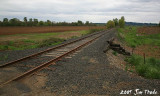 Repaired rail line, May 2009