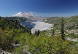 Spirit Lake/ Mt St Helens