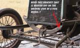 Frame bracket - found