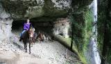 Past the falls                    (Goat Trail)
