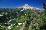 Tatoosh Lake and Mt Rainer