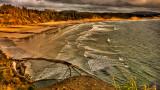 Beach view, Devil's Punch Bowl State Park, Oregon Coast
