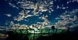 Observation deck cloudscape, Rhapsody of the Seas