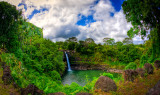 Rainbow Falls (1), Big Island, Hawaii