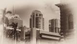 Cityscape, Honolulu, Oahu, Hawaii