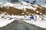 Khunjerab Pass - bordering China