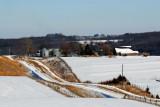 Iowa Winter Countryside