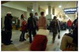 More passenger madness at the train depot.