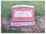 Mildred Elizabeth Atkisson was the eldest of three children born to, William Leo Atkisson & his wife, Jennie Elizabeth [COATNEY] Christman, Atkisson. She was born in, Nowata, Nowata, OK in 1901. She died in 1943 and is buried in Nowata Memorial Cemetery, Nowata, Nowata County, Oklahoma. This picture was taken from Findagrave.com.