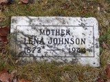 Antalena [Barnes] Johnson died in Newberry, Luce, MI on 01 March 1944. She's buried in, Forest Home Cemetery, Newberry.