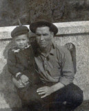 Shown above is LeRoy Charles Merrill and his only son, Verne Floyd Merrill.