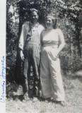 Shown above are Verne Floyd Merrill & his wife, Joyce Y. [Gannon] Merrill.