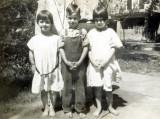 Shown above are Dorothy Mae Merrill, Verne Floyd Merrill & Hazel Alice Merrill.