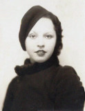 Dorothy Mae Merrill, as a young woman.