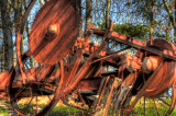 Old Machinery HDR Close up
