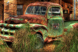 Old truck, HDR