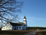 Old country church in Lineville Al