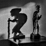 the shadow gets bored and leaves