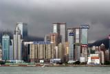 Hong Kong Island Skyline from Kowloon