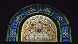 stainglass, jewish synagogue, Prague