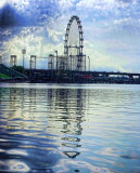 Singapore Eye under construction