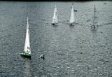 model yachts on Lake Virginia