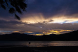 Sunset, Akaroa Harbour
