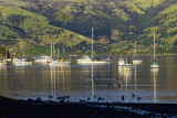 Akaroa Harbour at Dawn