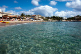 Crystal clear waters of Agia Pelagia