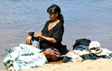 Laundry in Rio Caura