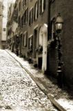 Winter on Acorn Street I, sepia