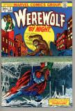 Werewolf By Night 9 FC VF+