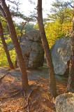 Boulder standing gard at Eagle's nest