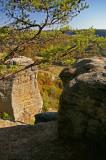 Cliffs on east Pinnacle