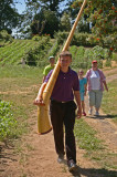 Here comes the first Alphorn