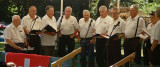 The mens yodeling choir