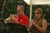 Mark and Katie in Grossen Band
