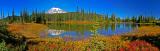 Mt Rainier at Mirror lake, Washington