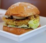 V = Veggie Burger