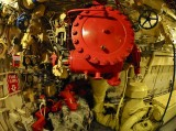 Diesel Engine Compartment