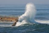 High Surf in La Jolla
